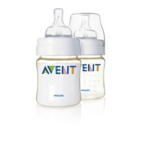 AVENT - 4 oz. PES Bottle Twin Pack - BPA Free