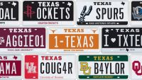License plate auction is a Texas sports fan's dream - Photo