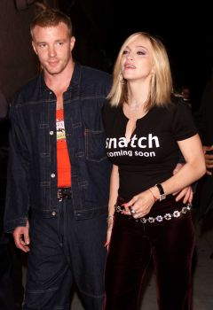 Madonna and Guy Ritchie arrive at Madonna's 'Music' Launch Party presented by Warner Bros. Records and US Weekly at Catch One in Los Angeles, Sept. 19, 2000. Photo: Kevin Winter, Getty Images / Getty Images North America