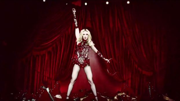 "Review of Madonna's ""Rebel Heart"" songs. (Performer) Photo: Video Screenshot"