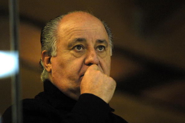 Portrait of Amancio Ortega, Inditex Group president.  (Photo by Xurxo Lobato/Cover/Getty Images)