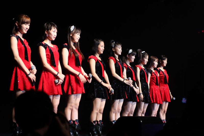 The 9th - 11th generations of Morning Musume。'14