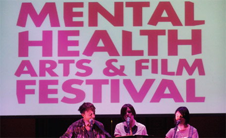 Image of a performance from the Scottish Mental Health Arts & Film Festival