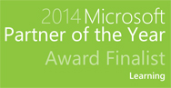 Microsoft Learning Partner of the Year Finalist