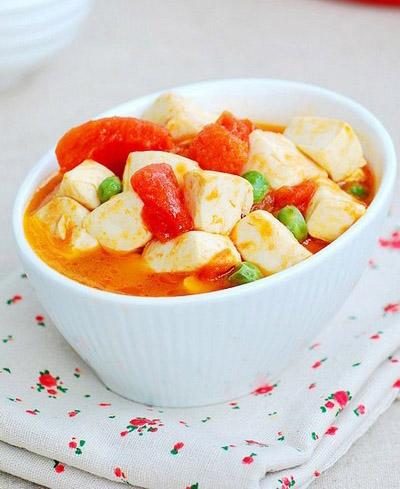 宝宝食谱,番茄豆腐,维生素的作用和功效