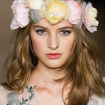Marchesa hair crowns SS2015