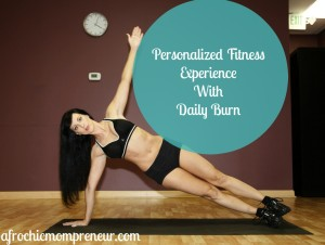 Personalized Fitness WIth Daily Burn