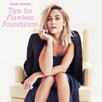 our editor-in-chief miss @laurenconrad is launching her brand new Beauty Beginners series on the blog today! head to laurenconrad.com to read her tips for applying foundation perfectly and picking the product that's right for your skin type.