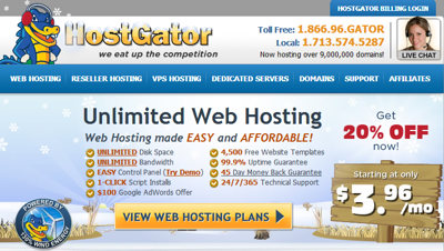 hostgator review 2015