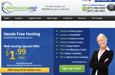webhostingpad review 2015