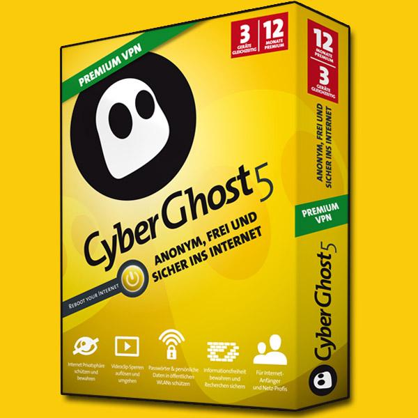 Cyberghost 5 Premium 2015 VPN