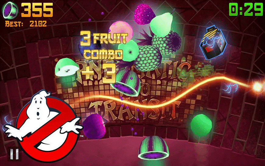 descargar fruit ninja CAZAFANTASMAS PARA ANDROID
