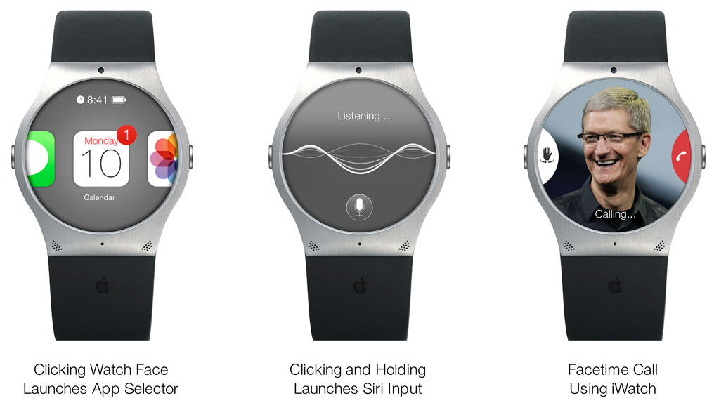 iwatch round concept Why the iWatch needs to happen and why it will revolutionize what it means to be social again