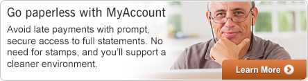 Go Paperless with My Account!