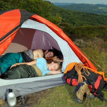 camping-tent-couple-trip