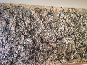 I could have done this.. (Pollock)