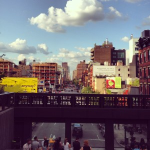 Relaxing Views from the Chelsea Highline
