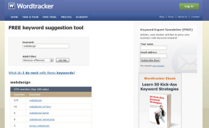 wordtracker-keyword-tool