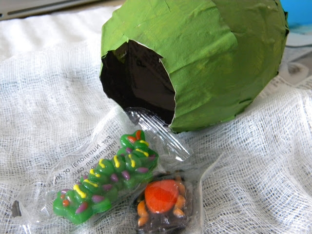 Caterpillar Cocoon Favors