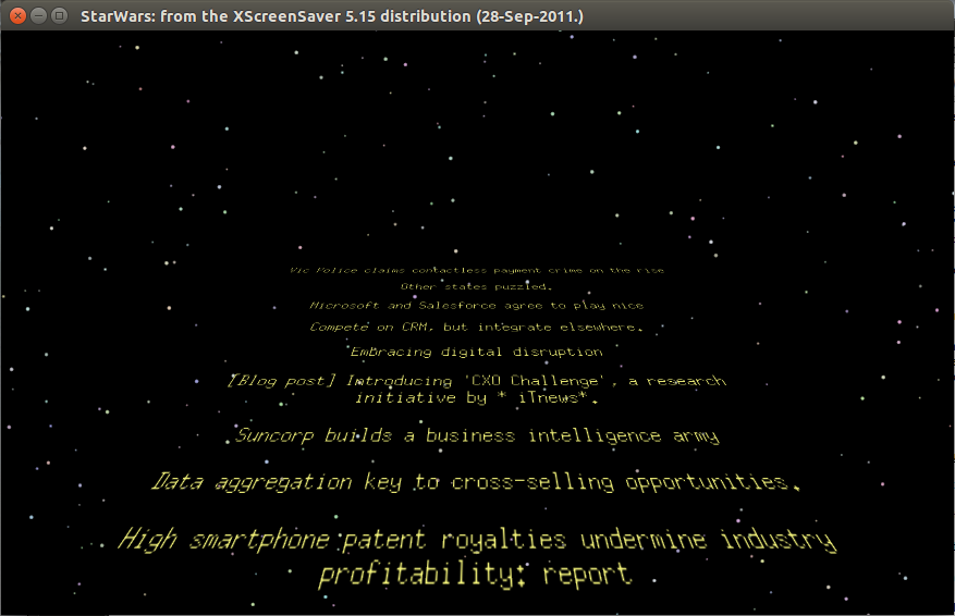 Ugly fonts in the StarWars screensaver
