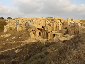 king tombs of the paphos cyprus