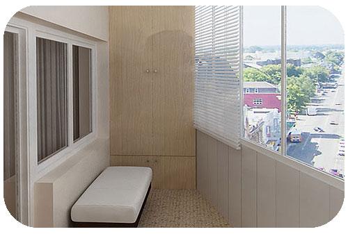 «Эконом-вариант» ремонта балкона