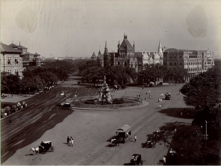 Flora-FountainBombay-1880