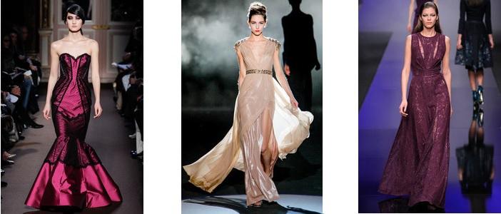 модный цвет платья осень 2013