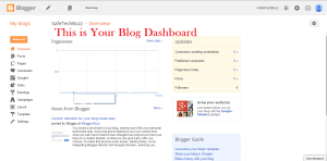 blogspot dashboard