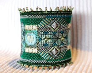 mixed colors cuff