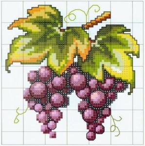 cluster of grapes pattern