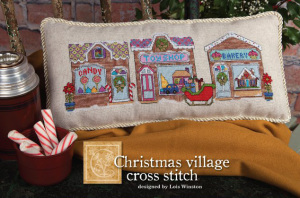 Free Christmas Village Pattern on Create and Decorate