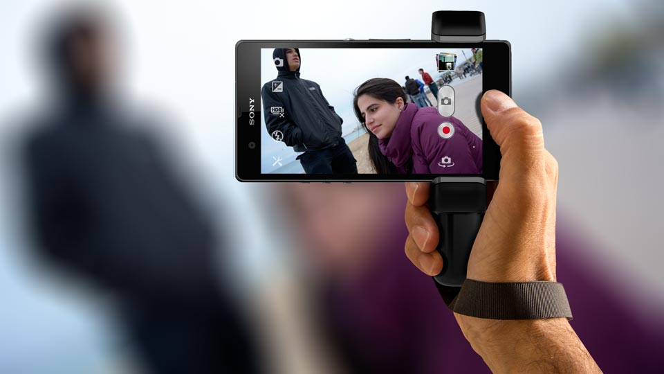 Sony Xperia Z1 grip Handle Shoulderpod S1