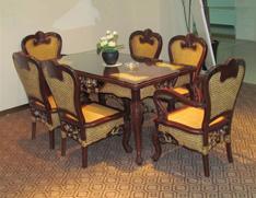 中式古典餐桌椅
