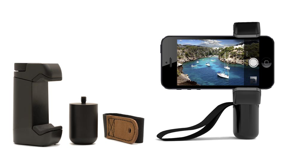 Shoulderpod S1 iPhone 6 Plus tripod mount and hand grip