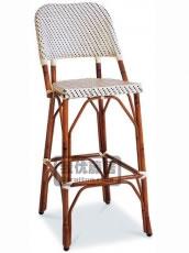 仿竹节吧椅