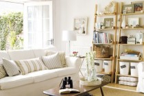 Chic Cottage Home Decor for Soft Light Living Room