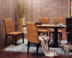 藤制快餐桌椅