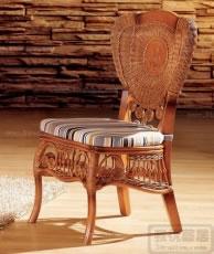 天然藤木餐椅
