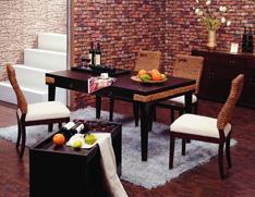 现代实用餐桌椅