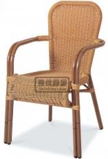 户外扶手餐椅