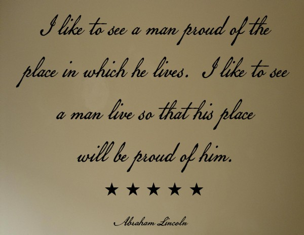 like to see a man proud of the place in which he lives 0443