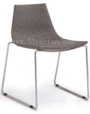 藤制快餐椅