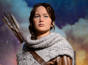 Katniss Everdeen arrives in Hollywood!