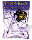 Deluxe Spider Web with 4 Spiders
