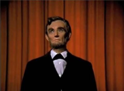 Audio Animatronic Abraham Lincoln