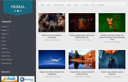 primal En İyi WordPress Temaları 2013 (35 Adet)