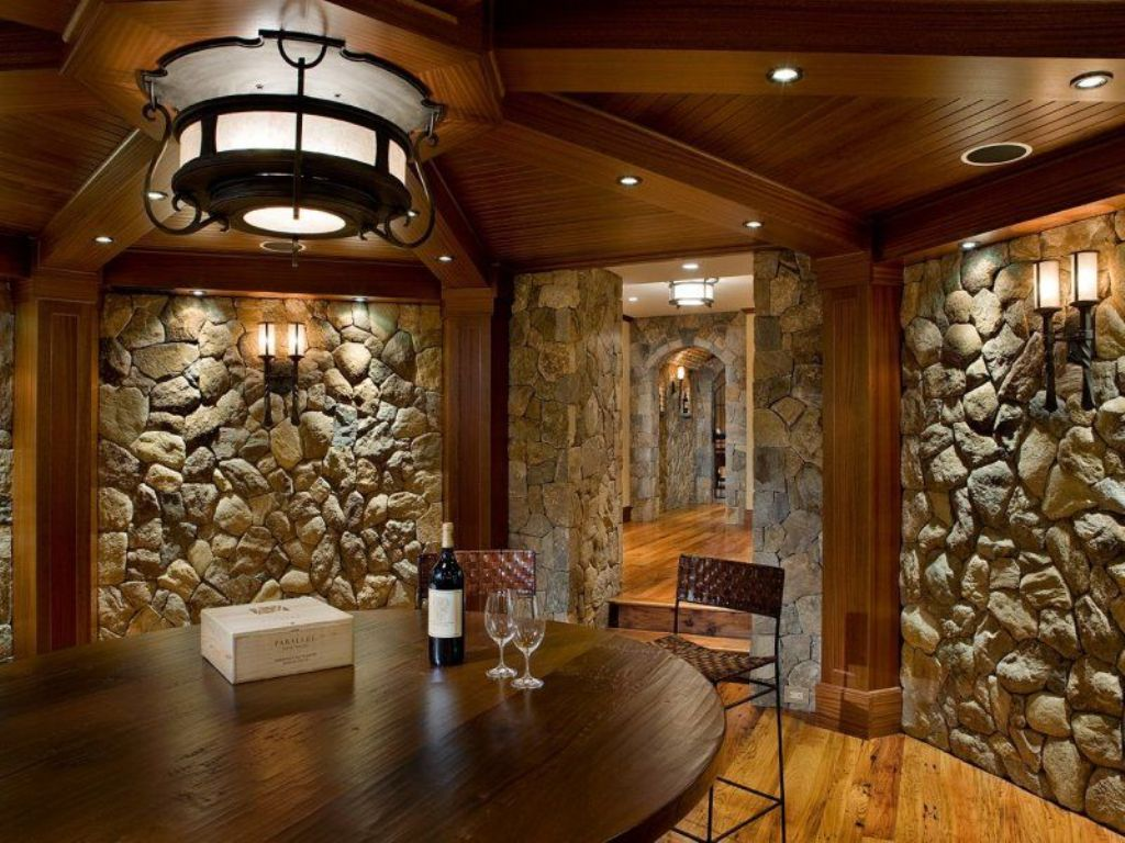 Beautiful Stone Interior Wall for Classic Home Style