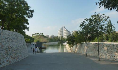 Turia. Park Header-Parque de cabecera II - Parc de Capçalera II.