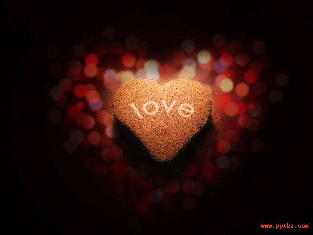 浪漫ppt背景图片,love生日蛋糕 ,空间背景图片